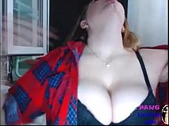 Cute Huge Boobs Camgirl on Webcam - PawgLiveCam...