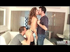 Flawless fairy Remy Lacroix enjoys hardcore DP with her 2 bfs