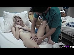 Creepy doctor fucks his teen patient Arya Fae!