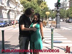 Public blowjob and fucking