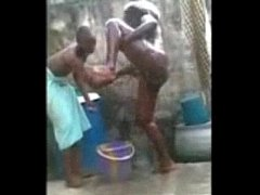 Guy Bathing for a Lady