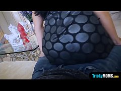 Fucking my small titted MILF asian stepmother