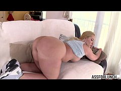 Big booty Kelly Divine enjoys interracial anal by her boyfriend