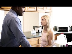 Stepdaughter teenie drives her black stepdad crazy