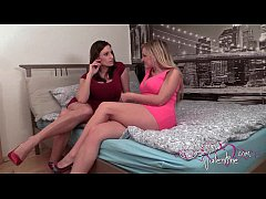 Sensual Jane and Jemma Valentine Girl's Night Out