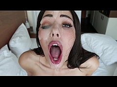 ANGELS THROAT - ROUGH SELF FACE FUCK | CUM COUNTDOWN | BIG FACIAL EXPLOSION | SHAIDEN ROGUE