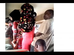 Getting some ass on the bus in Tanzania