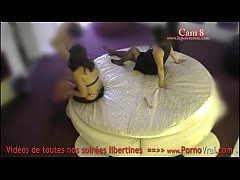 Spy cam at french private party! Camera espion en soiree privee. Part385