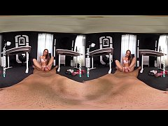 DDFNetwork VR - Blue Angel Blowjob, Footjob & Fuck in VR