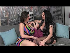 Sara Jay Does Britain! With Louise Jenson & Ava Austin