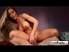 Nicole Aniston Milks A Guy