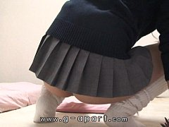 Webcam Japanese Schoolgirl Nice Buttocks