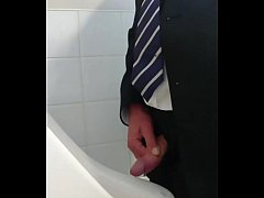 Mature foreskin piss