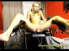 Blonde Girl Cums from Sex Chair—  www.girls4cock.com\/siswet19  —