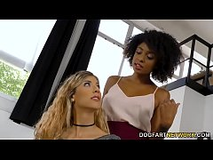 Luna Corazon And Her Beautiful Personal Assistant Enjoys Lesbian Action