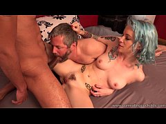 Cum Eating Cuckolds - Jeze Belle fucks a BBC in front of her cuckold