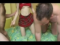 a naughty niece visiting her uncle
