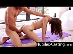Extra small teens first hardcore casting with big cock