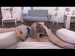 TmwVRnet.com - Tiny Teen - Making selfie on his knees