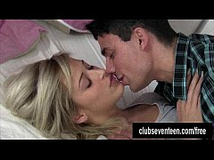 Sexy teen Ria gets fucked and cummed by her neighbor