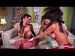 Jessica Jaymes, Nikki Benz and Amy Anderssen bisexual fuck fest