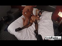 Behind the Scenes 2nd angle from Nicole Aniston scene