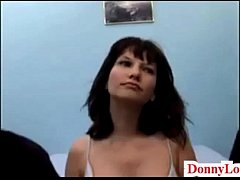 Donny Long gives first big cock to cheating wife milf fake titty attention whore