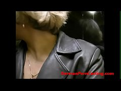 Roleplay With A German MILF In Public Transportation - GermanPornCasting.com