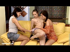 Lovemaking the lesbian way with Candy Sweet and Pamela D on Sapphic Erotica