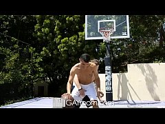HD - GayRoom Hot guys grinding on the basketball court