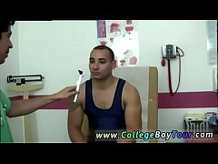 Teen boy at doctor and gay twink gets hard during physical Today I
