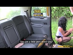 Sex mad busty MILF fucked in her ass by a taxi driver