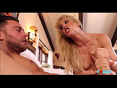 Big Tits Big Ass MILF Step Mom Cherie Deville Intense Fucking Step Son
