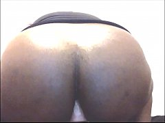 Bbw tranny back on the webcam