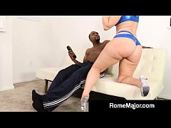 brunette big booty virgo peridot gets reamed by rome s bbc