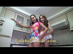 Double Ladyboys In Need Of You