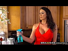 brazzers - mommy got boobs - too hot to handle scene starring reagan foxx and kyle mason