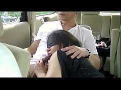 Japanese Amateur Middle-age M women enjoy SEX in car