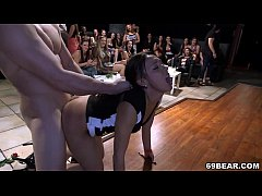 cfnm party girls suck and fuck male strippers