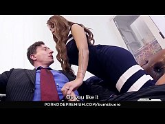 bums buero - horny secretary julie hunter fucks boss in the office