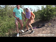 HD Czech teen muslim girl Mila Fox and her horny boyfriend were on a walk. Randy guy thinks only of sex. They enjoyed outdoor sex with a view of beautiful Prague.
