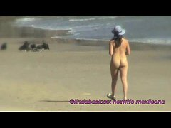 Putiesposa mexicana en la Playa - Mexican Hotwife in the beach