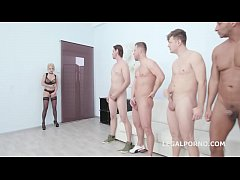 Dap Destination with Manhandle Alessia di Pesaro gets No Pussy, Balls Deep Anal, Dap, Facial GIO945
