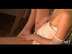 Legal age teenager chick in a avid solo action getting drilled so hard