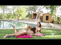 HD Ariana Marie, Cassidy Klein Fucking In Pool