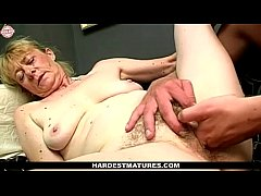 Old Granny Enjoys Fingering