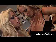 Penthouse Pet Nikki Benz & Spanish Star Bridgette B gets fucked by a horny cock! See Nikki Live at VNALive.com!