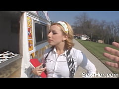 Blonde Lexi Belle Nailed Hard in Truck