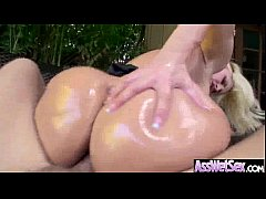 Oiled Big Ass Girl (alena croft) Take It Deep In Her Behind On Camera clip-03