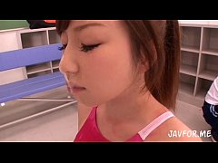 Saki Mishima blowjob and gets facial. Full video http:\/\/zo.ee\/1MK